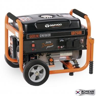Generador a Gasolina Daewoo GD2500 2.0 KW