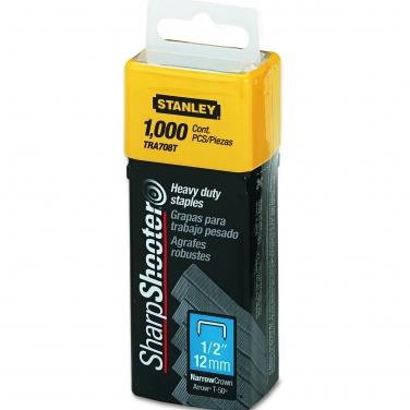 Grapas para Trabajo Pesado Stanley TRA708T 12mm 1000pcs