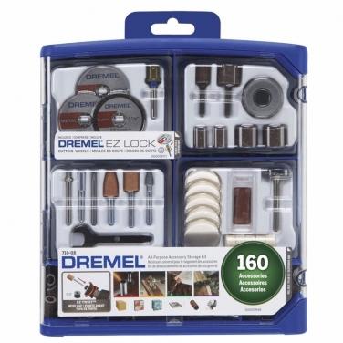 Kit Multiuso Dremel 26150710AK 160 Accesorios