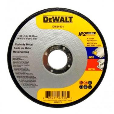 Disco de Corte Metal Dewalt DW84406 4 1/2