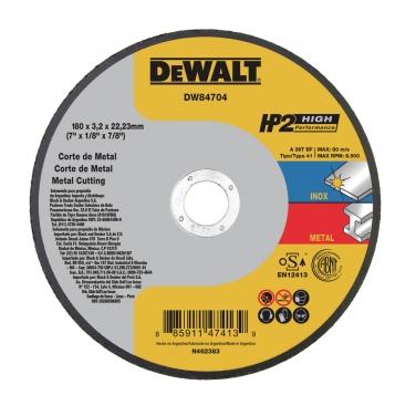 Disco de Corte Metal Dewalt DW84704 7