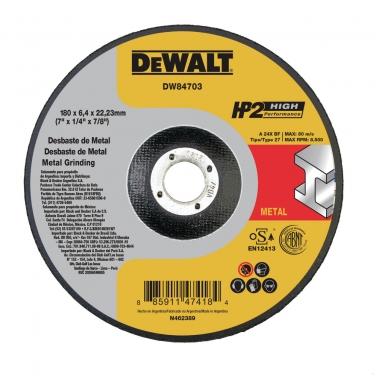 Disco de Desbaste Metal Dewalt DW84703 7