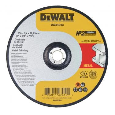 Disco de Desbaste Metal Dewalt DW84903 9