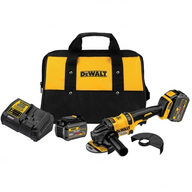 Kit Esmeril Angular Flexvolt Dewalt DCG414T2 60 V