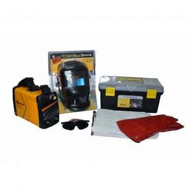 Combo Soldadora Krafter KW160 Kit de seguridad