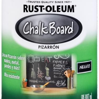 Pintura Espcialidades Rust-Oleum Specialty Pizarrón Negro Mate Pizarrón