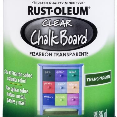 Pintura Espcialidades Rust-Oleum Specialty Transparente Pizarrón