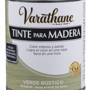 Cuidado De La Madera Rust-Oleum Varathane Verde Rústico Tinte madera reciclada