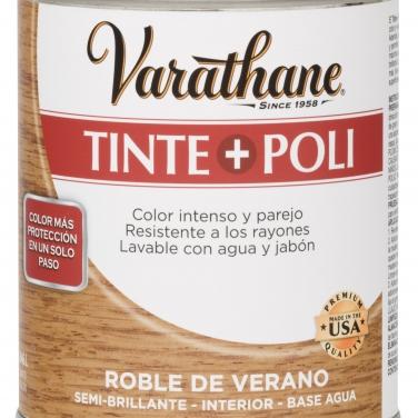 Cuidado De La Madera Rust-Oleum Varathane Roble Verano Base Agua Tinte + Poli