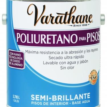 Cuidado De La Madera Rust-Oleum Semi Brillante Base agua Poliuretano para pisos