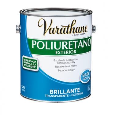 Cuidado De La Madera Rust-Oleum Varathane Poliuretano Exterior Brillante Base Agua