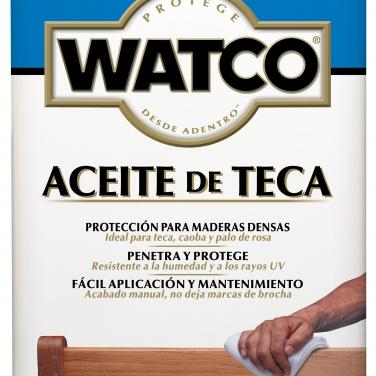 Cuidado De La Madera Rust-Oleum Watco Aceite De Teca Aceite Teca