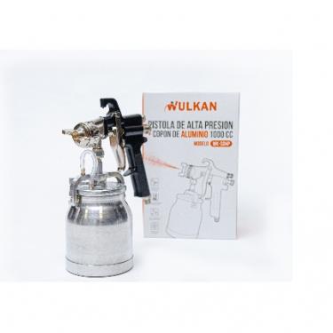 Pistola de Alta Presión Neumática con Diseño Liviano WULKAN WK-SGHP Capacidad 1000 cc