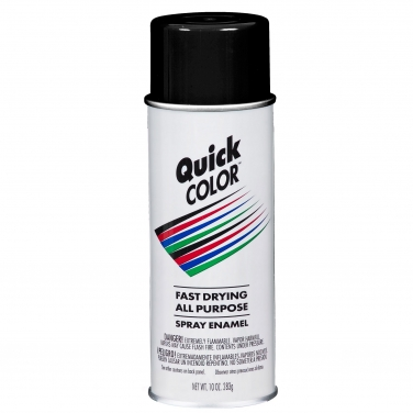 Pintura Multiusos Quick color Rust-Oleum Quick Color Negro Brillante Negro Brillante