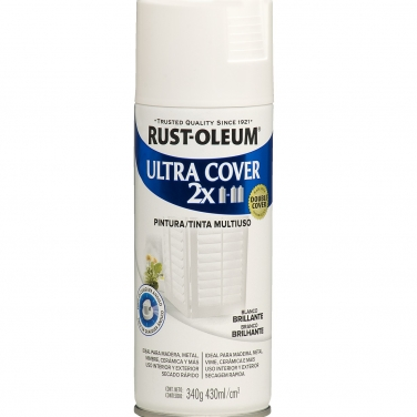 Pintura Multiusos Rust-Oleum Ultra Cover 2X Blanco Brillante