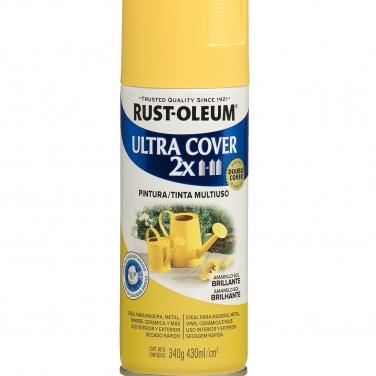 Pintura Multiusos Rust-Oleum Ultra Cover 2X Amarillo Sol Brillante