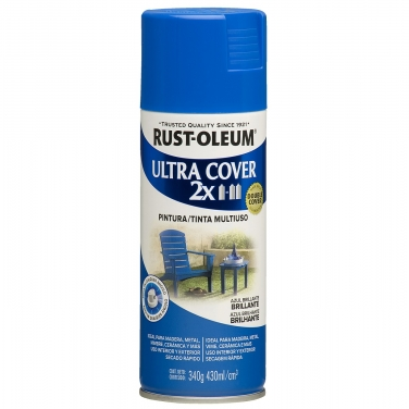 Pintura Multiusos Rust-Oleum Ultra Cover 2X Azul Brillante Brillante