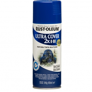 Pintura Multiusos Rust-Oleum Ultra Cover 2X Azul Profundo Brillante