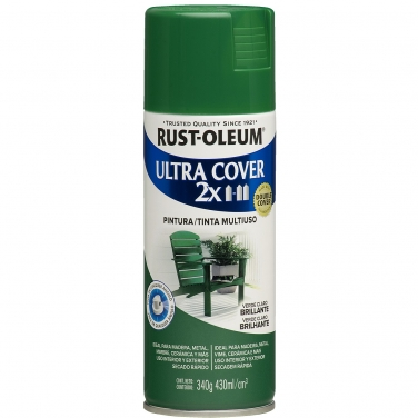 Pintura Multiusos Rust-Oleum Ultra Cover 2X Verde Claro Brillante