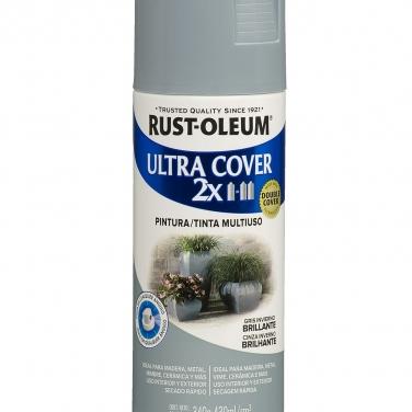 Pintura Multiusos Rust-Oleum Ultra Cover 2X Gris Invierno Brillante
