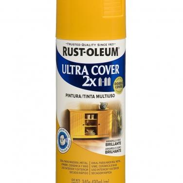 Pintura Multiusos Rust-Oleum Ultra Cover 2X Amarillo Oro Brillante