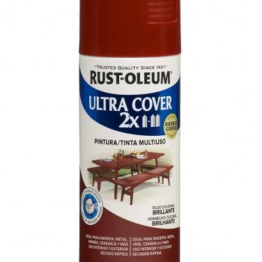 Pintura Multiusos Rust-Oleum Ultra Cover 2X Rojo Colonial Brillante