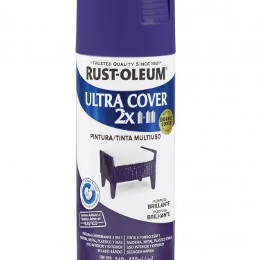 Pintura Multiusos Rust-Oleum Ultra Cover 2X Purpura Brillante