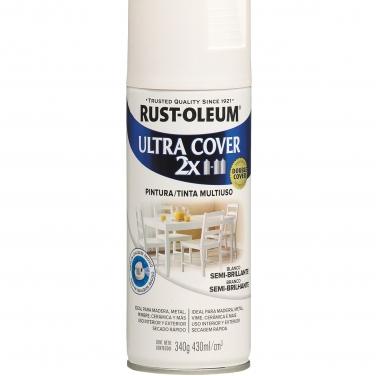 Pintura Multiusos Rust-Oleum Ultra Cover 2X Blanco Semi Brillante