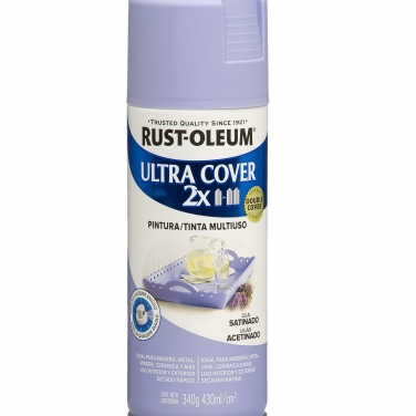 Pintura Multiusos Rust-Oleum Ultra Cover 2X Lila Satinado