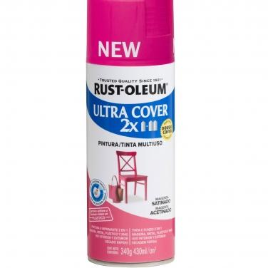 Pintura Multiusos Rust-Oleum Ultra Cover 2X Magenta Satinado