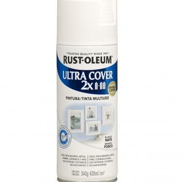 Pintura Multiusos Rust-Oleum Ultra Cover 2X Blanco Mate