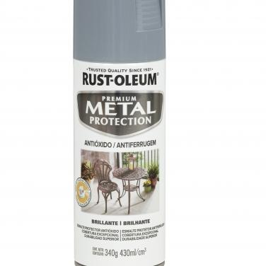 Pintura Anticorrosivas Rust-Oleum Gris Humo Brillante Brillante