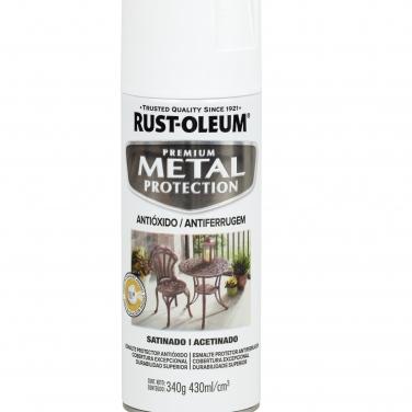 Pintura Anticorrosivas Rust-Oleum Metal Protection Blanco Satinado Satinado