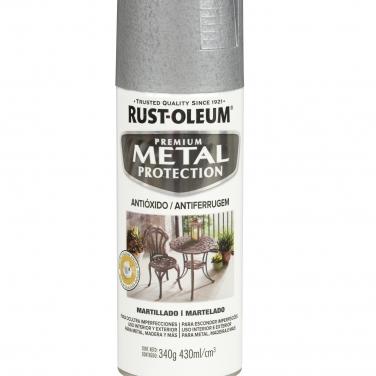 Pintura Anticorrosivas Rust-Oleum Metal Protection Plata Martillado Martillado