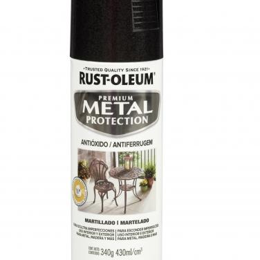Pintura Anticorrosivas Rust-Oleum Metal Protection Negro Martillado Martillado