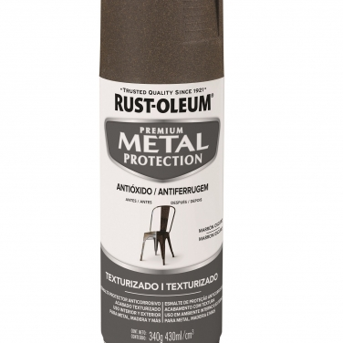 Pintura Anticorrosivas Rust-Oleum Metal Protection Marrón Texturado Texturado