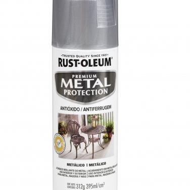 Pintura Anticorrosivas Rust-Oleum Metal Protection Plata Metálico Metálico