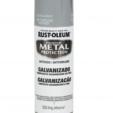 Pintura Anticorrosivas Rust-Oleum Metal Protection Galvanizado Gris Mate Galvanizado
