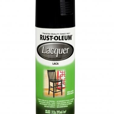 Pintura Espcialidades Rust-Oleum Specialty Laca Negro Brillante Laca