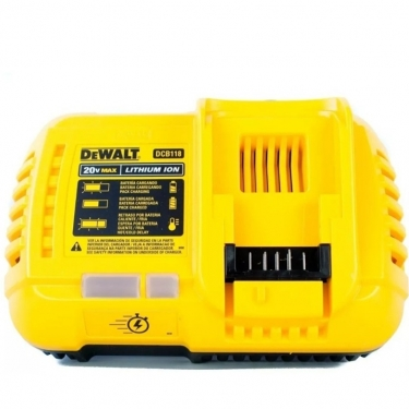 Cargador Flexvolt Dewalt DCB118 Litio ion