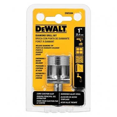 Broca para Porcelanato 1 Dewalt DW5584 (25.4 mm)
