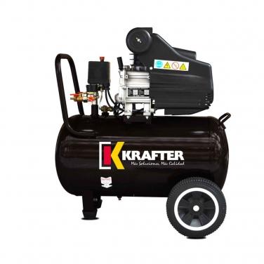 Compresor de aire 50LT + Kit Krafter Emaresa ACK 50 220V