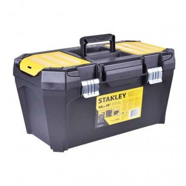 Caja de Herramientas Plástica con Broche Metálico Stanley  19 Pulgadas