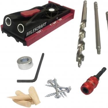 Kit guía de perforación Milescraft POCKETJIG200