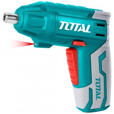 Kit Atornillador Inalámbrico Total TSDLI0401 4V