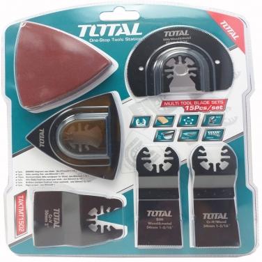 Juego de hojas multifuncional Total TAKTMT1502 15Pzas