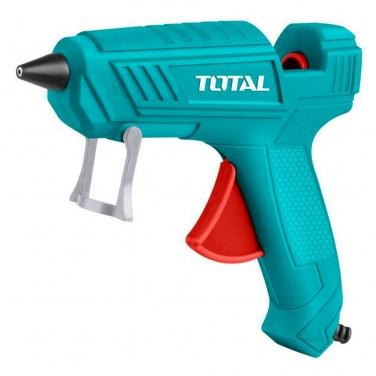 Pistola para pegar silicona Total TT101116 100W