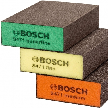 Esponjas Abrasivas 3 Unidades Bosch 2608621253