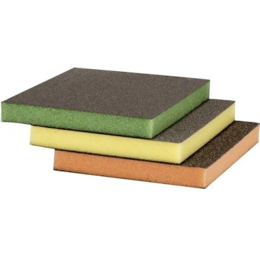 Esponjas Abrasivas Bosch 2608621254 3 Unidades