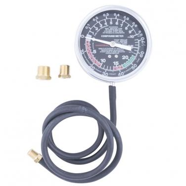 Vacuómetro Profesional jonnesway AR020019 Dial Grande de 3-1/2 Pulgadas
